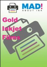 Inkjet Gold Brushed Effect Film